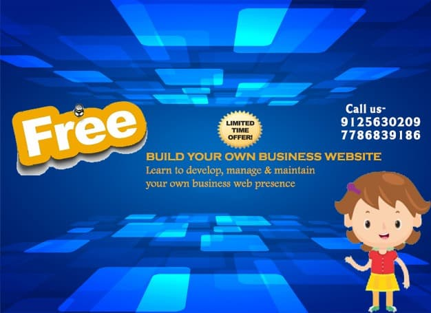 Free Website for your business